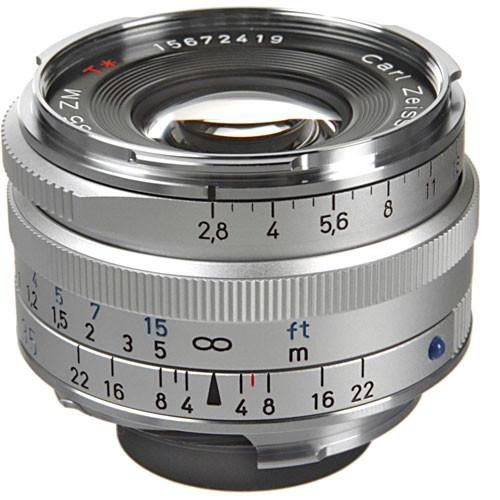 Zeiss Wide Angle 35mm f/2.8 C Biogon T* ZM Manual Focus 1486-394