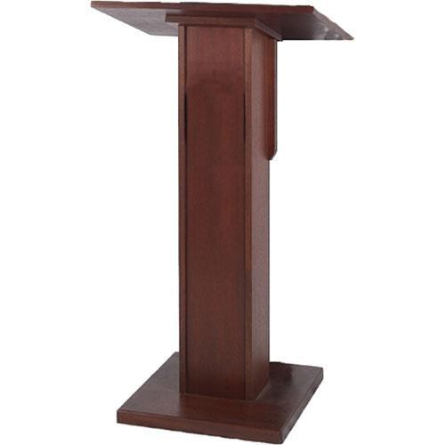 AmpliVox Sound Systems Elite Pedestal Lectern (Mahogany) W355-MH