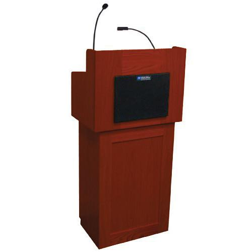 AmpliVox Sound Systems Oxford Two-Piece Lectern SS3010-CH