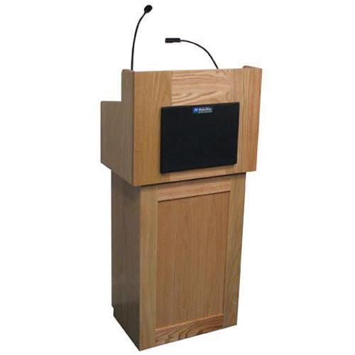 AmpliVox Sound Systems Oxford Two-Piece Lectern SS3010-MH