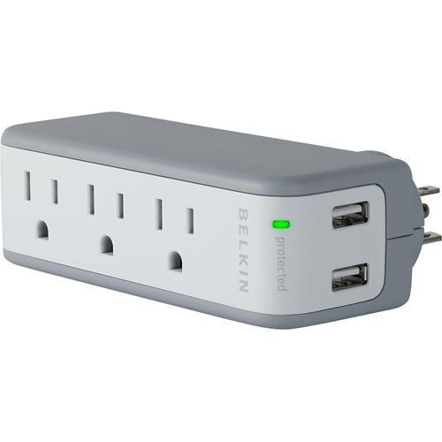 Belkin Mini Surge Protector with USB Charger BZ103050QTVL