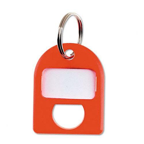 Carl Replacement Security Cabinet Key Tags, (Red) 8/PK CUI80058