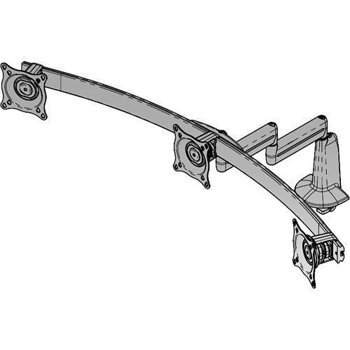 Chief KCD320S Triple Monitor Swing Arm Desk Mount KCD320S