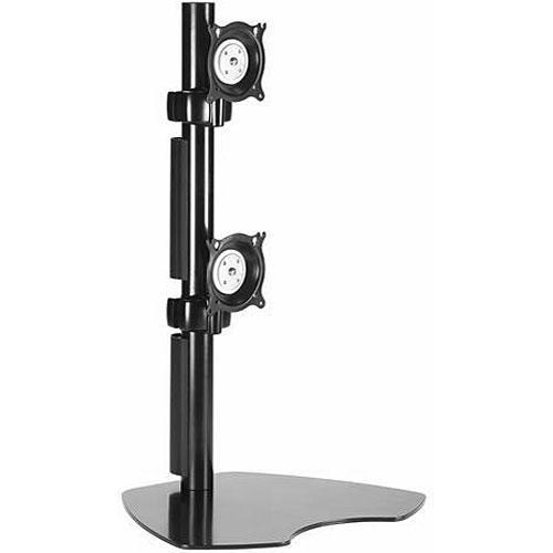 Chief KTP230B Dual Vertical Monitor Table Stand (Black) KTP230B
