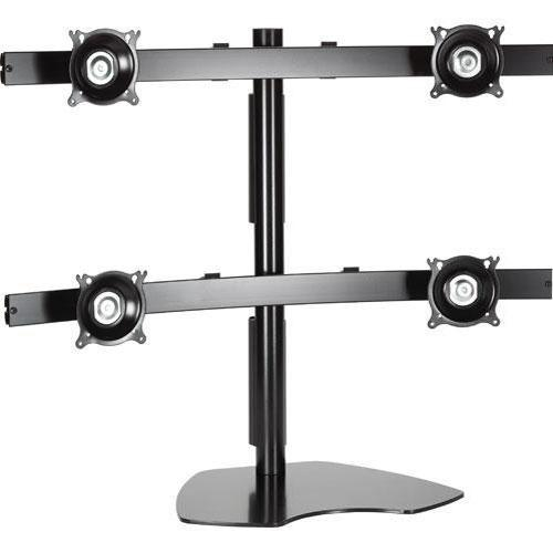 Chief KTP440B Quad Monitor Table Stand (Black) KTP440B