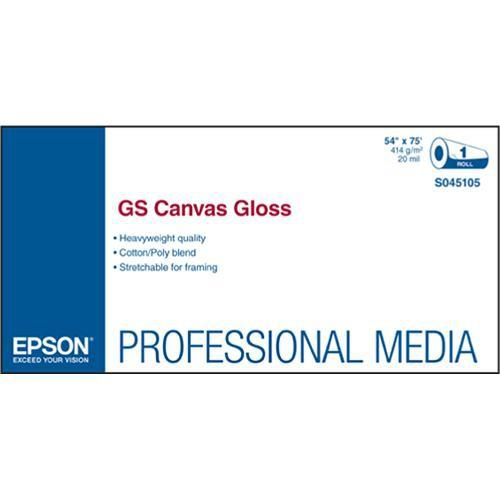 Epson GS Canvas Gloss for Solvent Ink Printers S045106
