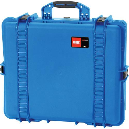 HPRC 2700F Hard Case with Cubed Foam Interior HPRC2700FBLUE