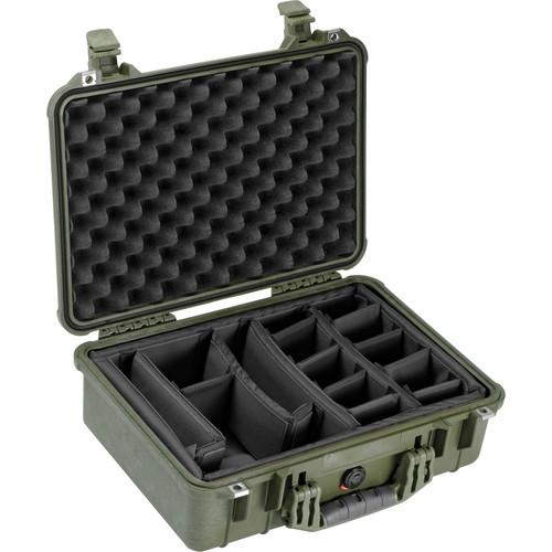 Pelican 1504 Waterproof 1500 Case with Padded Black 1500-004-130