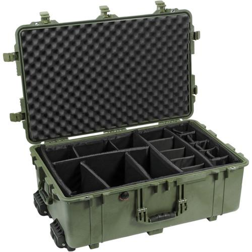 Pelican 1654 Waterproof 1650 Case with Dividers 1650-024-130
