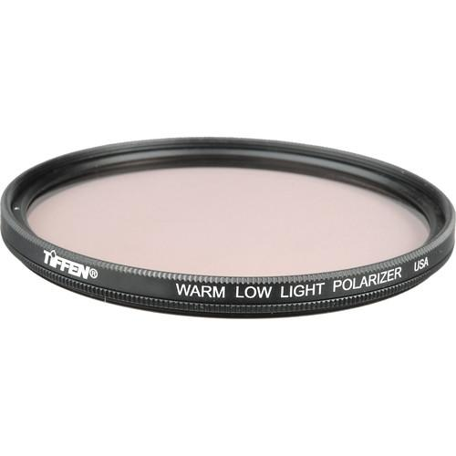 Tiffen 49mm Warm Low Light Linear Polarizer Filter 49WLLPOL