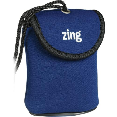 Zing Designs  Camera Pouch, Medium (Blue) 563-203