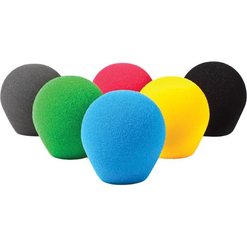 Rycote 18/32 Small Diaphragm Mic Foam [Yellow] (10-Pack) 103118
