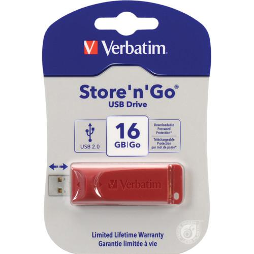 Verbatim Store 'n' Go USB Flash Drive - 64GB Capacity 97005
