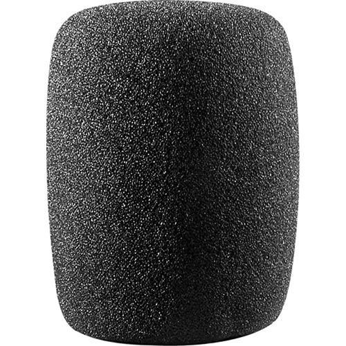 Audio-Technica AT8101 Cylindrical Foam Windscreen (Black) AT8101