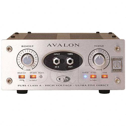 Avalon Design  U5 Mono DI with EQ U5