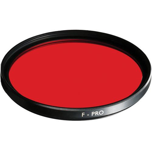 B W 105mm 090 Light Red Multi-Coated (MC) Glass Filter