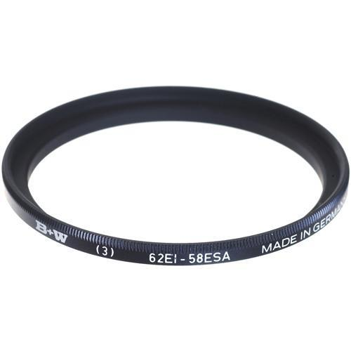 B W  58-62mm Step-Up Ring 65-069448