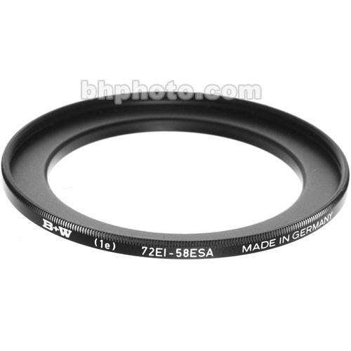 B W  58-72mm Step-Up Ring 65-069438