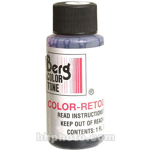 Berg Retouch Dye for Color Prints - Blue-2/1 Oz. CRKB2