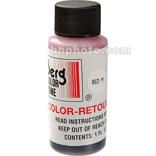 Berg Retouch Dye for Color Prints - Red-1 (Magenta) CRKR1