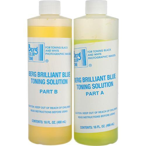 Berg Toner for Black & White Prints - Brilliant Blue BBTS128