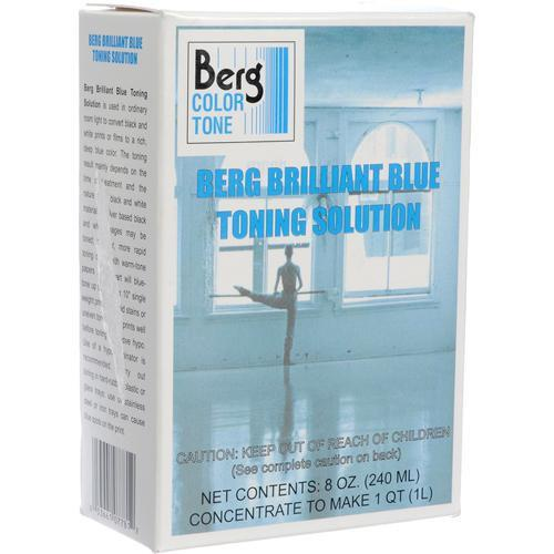 Berg Toner for Black & White Prints - Brilliant Blue BBTS32