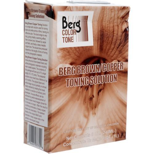 Berg Toner for Black & White Prints - Brown-Copper BCTS32