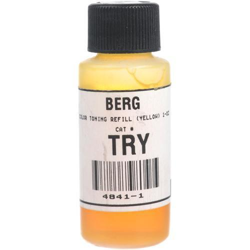 Berg Toner for Black & White Prints (Yellow, 1 oz) TRY