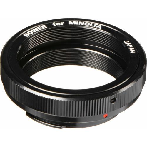 Bower T-Mount Lens to Minolta MD Mount Camera Adapter ATM