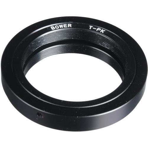 Bower  T-Mount to Pentax K Mount Adapter ATPK