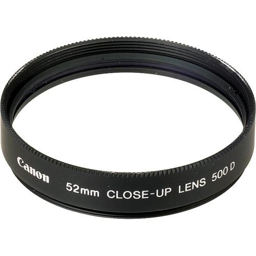 Canon  52mm 500D Close-up Lens 2821A001