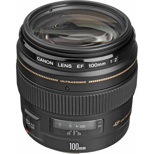Canon  EF 100mm f/2 USM Lens 2518A003, Canon, EF, 100mm, f/2, USM, Lens, 2518A003, Video