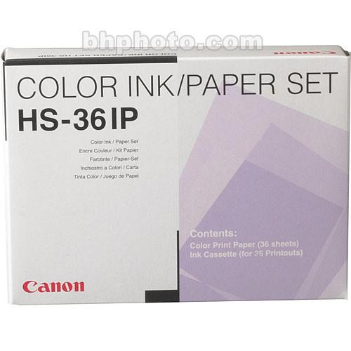 Canon  HS-36IP Standard Print Pack 1996A003