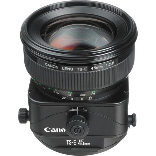 Canon  TS-E 45mm f/2.8 Tilt-Shift Lens 2536A004