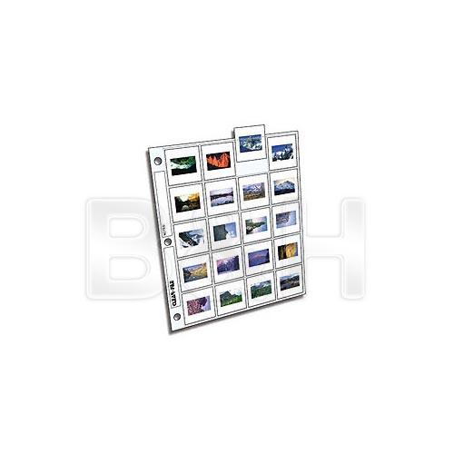ClearFile Archival-Plus Slide Page, 35mm - 100 Pack 210100B