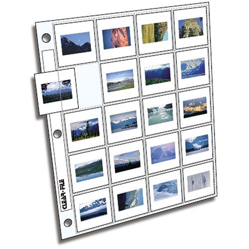 ClearFile Archival-Plus Storage Page for Slides, 35mm - 220025B