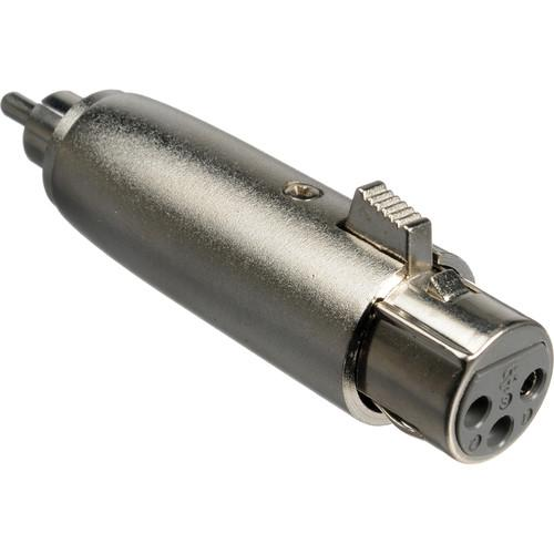 Comprehensive PP-XLRJ Male RCA to Female XLR Adapter PP-XLRJ