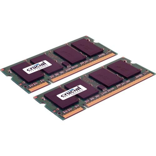 Crucial 8GB (2x4GB) SO-DIMM Memory Upgrade Kit CT2KIT51264AC800