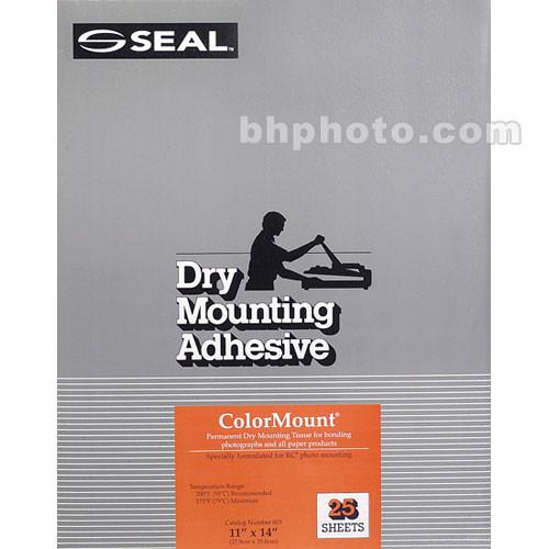 D&K Colormount Dry Mounting Tissue - 11 x 14