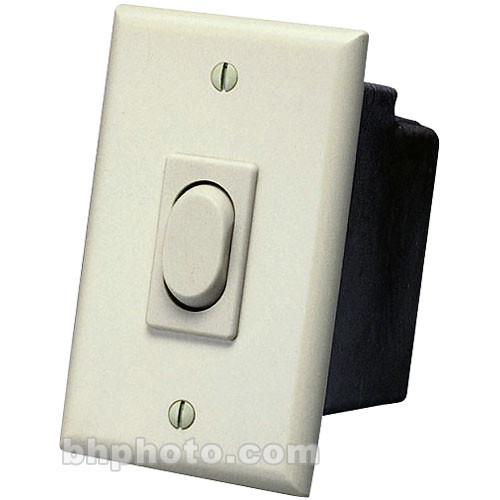 Da-Lite Replacement Wall Switch 110 - Volt (Ivory) 40961