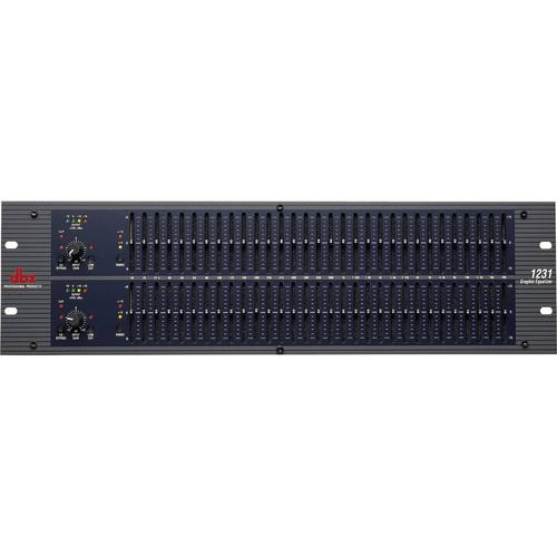 dbx 1231 - Dual Channel 31-Band Graphic Equalizer DBX1231V