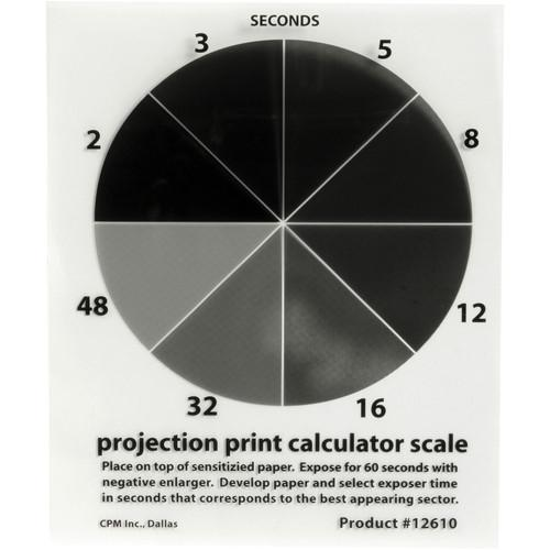 Delta 1 Projection Print Calculator Scale 4x5
