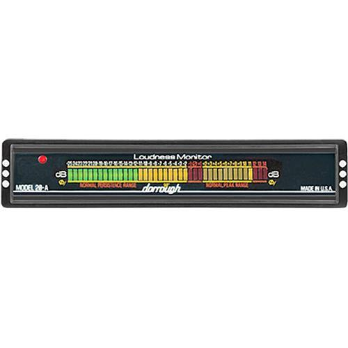 Dorrough  20-A Analog Loudness Meter 20-A