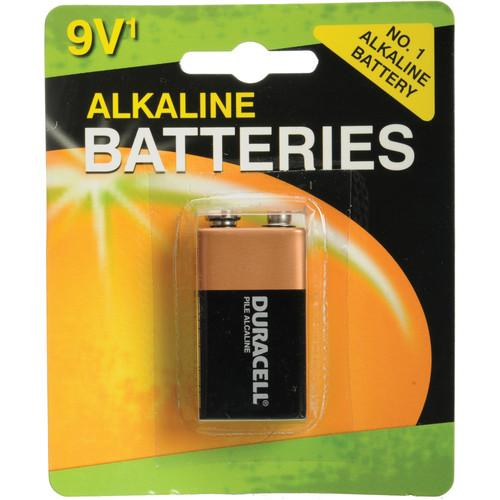 Duracell  9V Alkaline Battery (Coppertop) MN1604