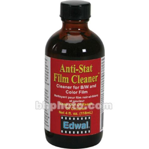 Edwal Anti-Stat Film Cleaner (Liquid) - 4 Oz. EDAFC4