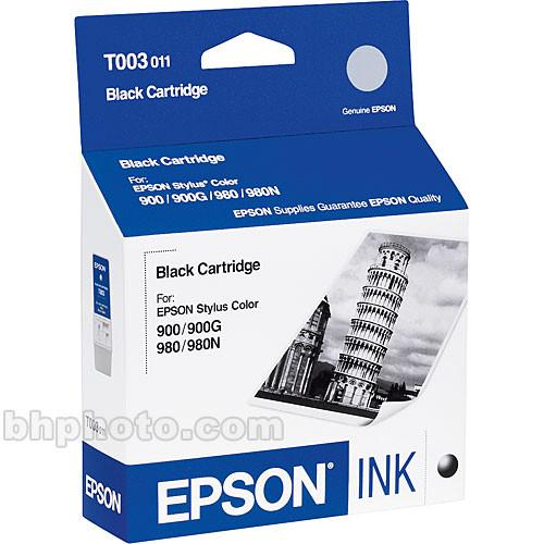 Epson  Black Cartridge T003011
