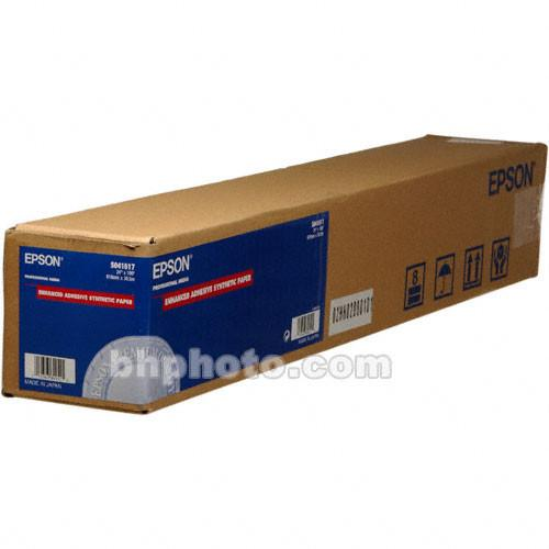 Epson Enhanced Adhesive Synthetic Inkjet Paper S041617