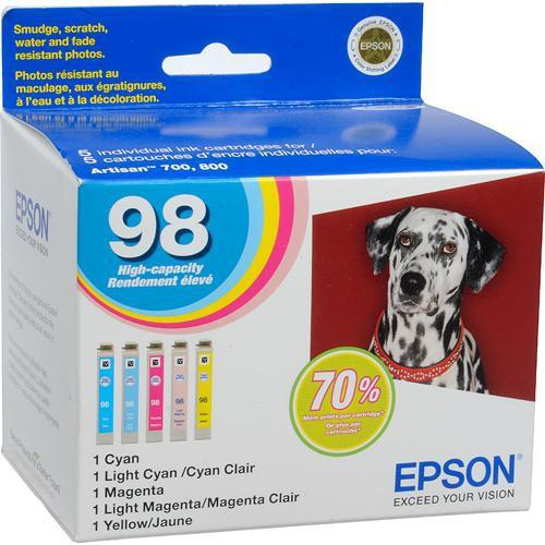 Epson Epson 98 High Capacity Claria Ink: Full Color T098920