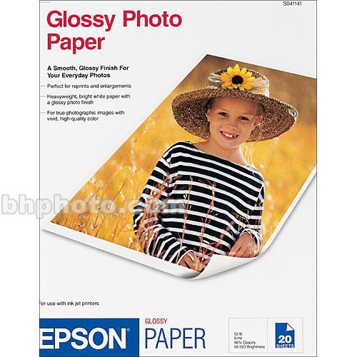 Epson Glossy Photo Paper - 13x19