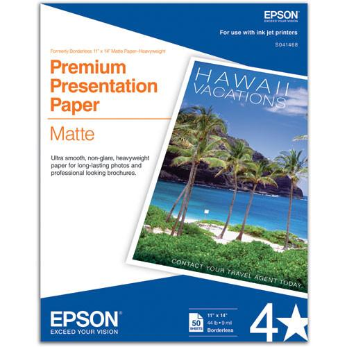 Epson Matte Paper Heavyweight - 11x14